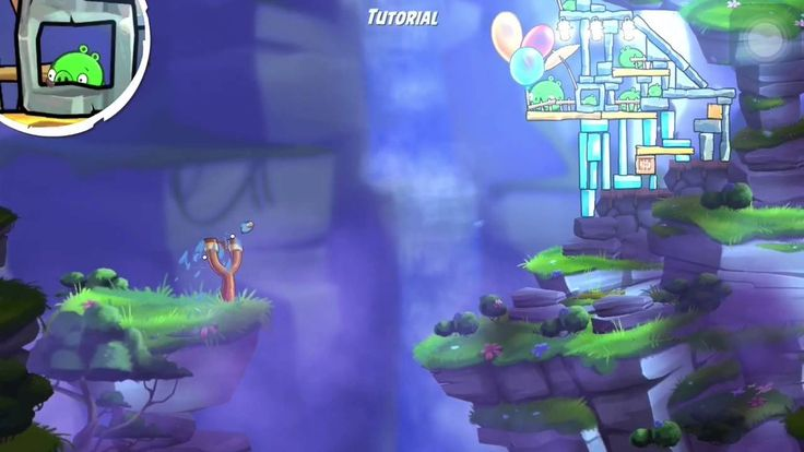 Angry Birds 2 Game Play on iPhone 6 - Level TWO