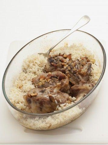 agnello-con-riso-allo-zenzero-e-curry immagine