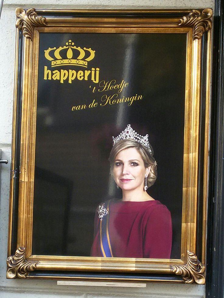 Hoedje van de Koningin. Purmerend. Eigen foto Memo Rie.