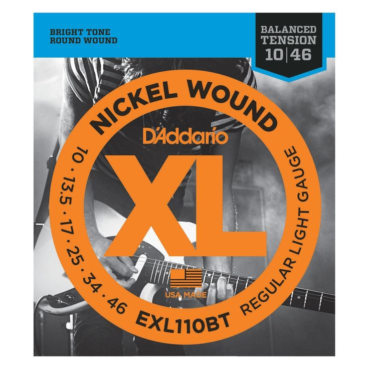 D'Addario EXL110BT Balanced Tension Electric 10-46 Regular Light