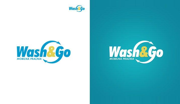 Logotype for Wash&Go, Mobile Laundry. #logo #logotype #id #identity #design #synkro #synkrointeractive #carbone #washandgo #mobileloundry #lodzdesign #lodz