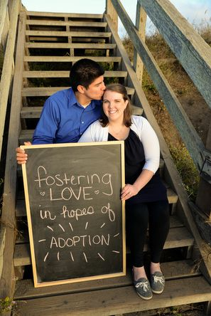 Fostering Adoption Announcement Photoshoot Adoption