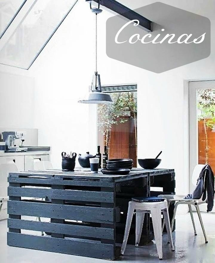 Muebles de palets para cocinas