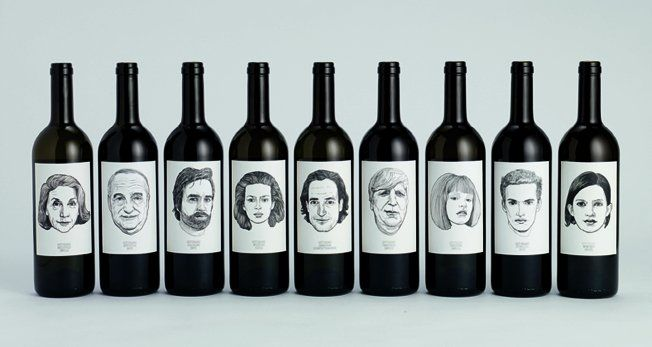 wine faces: By Matte, Idea, Gut Oggau, Of Young, Wine Packaging, Wine Labels, Packaging Design, Oggau Wine, Labels Design