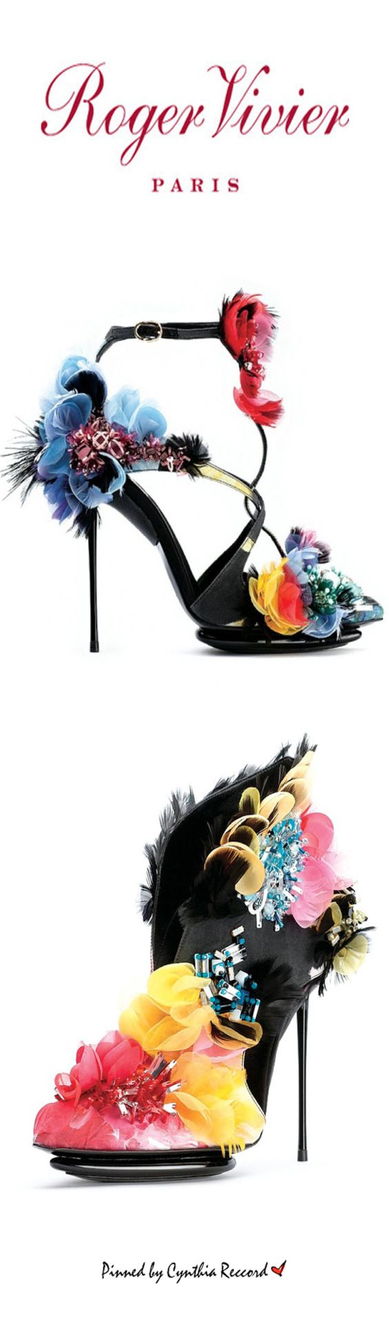 Roger Vivier's Iconic Shoes | SS 2015 (For Pinterest)