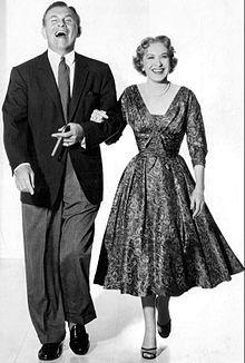 George Burns & Gracie Allen 1955. (Gracie Allen 1902 - 4/14/1959) (George 1/20/1896 - 3/9/1996). Much Loved!