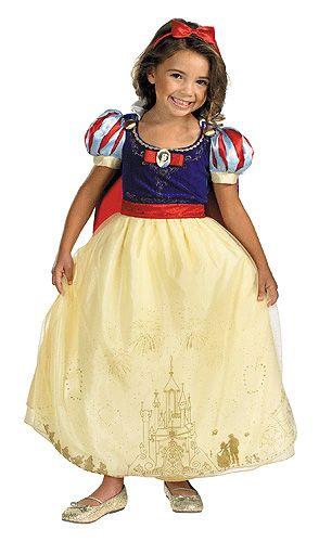 Kids Prestige Snow White Costume Dress w  PetticoatDetachable CapeMatching  Bow HeadbandWhistle while you work this Halloween season in this kid s  Prestige ... 1e07567bb0384