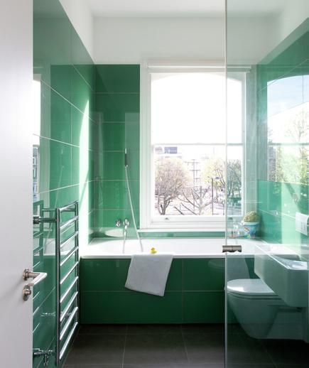 Pics On Green Bathroom with Dark Green Vanity Unit