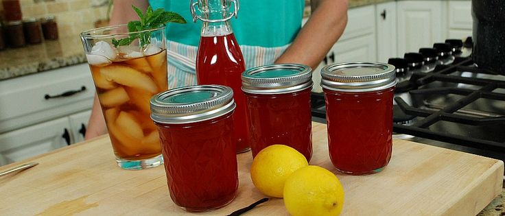 Canning homemade syrup