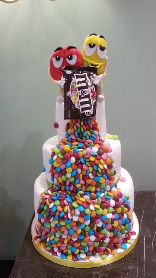 m&ms cake - Cake by Christina Papadopoulou