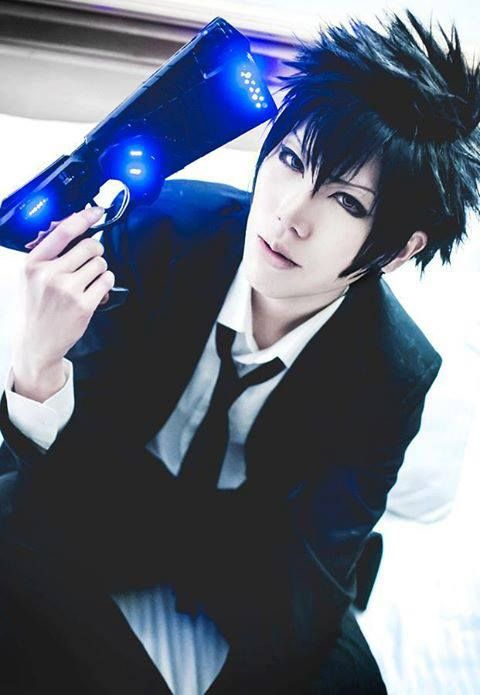 Kougami Shinya Psycho Pass Cosplay 3 MakeupCosplay CostumesCosplay IdeasMale CosplayAnime