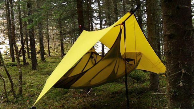 Norveç Draumr kamp ekipmanları hamak Amok için - dişli