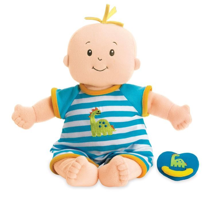 Manhattan Toy Baby Stella Boy Soft Nurturing First Baby Doll for Ages 1 Year and Up, 38.1cm (affiliate link)