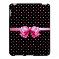 black and white polka dot iPad caseDots Ipad, Pink Polka Dots, Black And White, Ipad Accessories, Gift Ideas, Black Speckcas, Pink Ipad, Cute Ipad Cases, Things