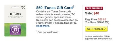 More Free Gift Cards!