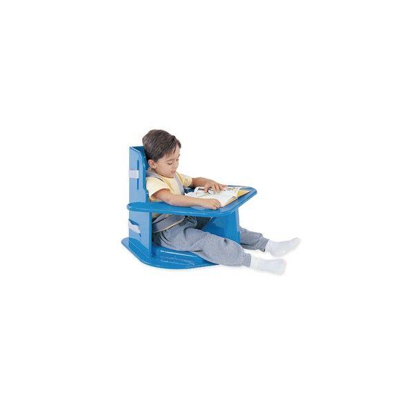 Seduta angolare Tumble Forms  La seduta angolare aiuta a mantenere l'estensione delle gambe e le spalle del bambino in posizione flessa permettendoli di focalizzarsi sulle attività motorie fini.