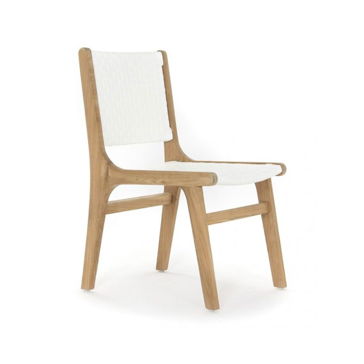 Copenhagen Dining Chair - White from Ambience Store