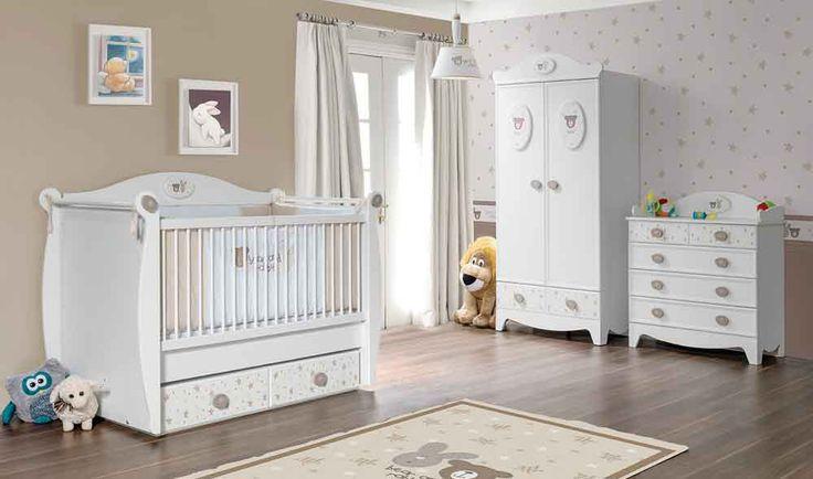 Rabbit bebek odası şık tasarımı ile çocuğunuzun hayal dünyasını süsleyecek http://www.yildizmobilya.com.tr/rabbit-bebek-odasi-pmu5589 #bayb #bebek #odası #moda #dekorasyon #kadın #home #ev #mobilya #furniture #besik http://www.yildizmobilya.com.tr/