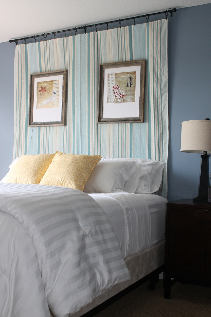 Teal Accent Wall Master Bedroom