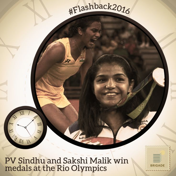 A brilliant show at the #Olympics by Indian women. #India bagged a silver in badminton and a bronze in Wrestling, thanks to PV SIndhu and Sakshi Malik, respectively.