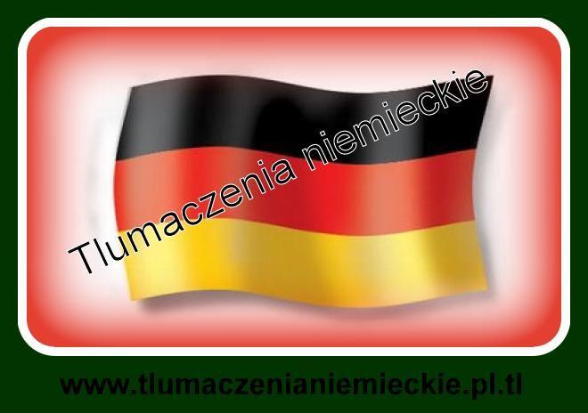Tłumaczenia niemieckie i korepetycje on line www.tlumaczenianiemieckie.pl.tl