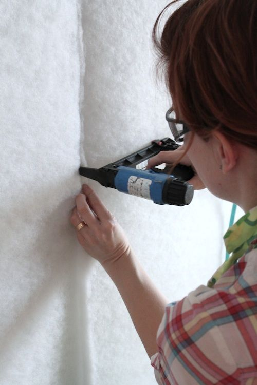 upholstery basics: upholstered walls, part 1 | Design*Sponge