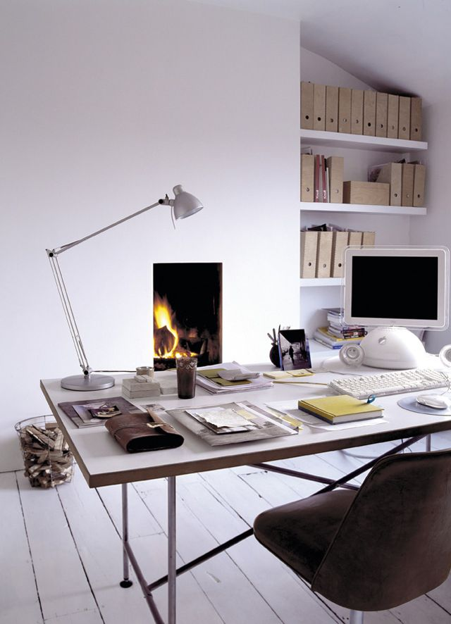 x: Interiors Inspiration, East London, Fireplaces, Work Spaces, Workspaces, To Work, Cozy Offices, Design, Fire Places