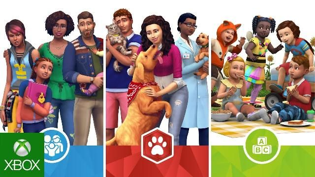 Xbox The Sims 4 Bundle 3 Cats Dogs Parenthood And Toddler Stuff Videos Xbox Xboxone Sims 4 Bundle Sims Sims 4