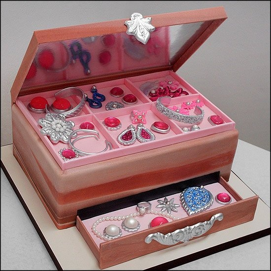 Jewerly Box Cake Baking Cupcakes And Cakes Pinterest