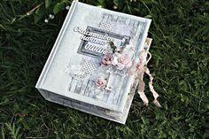 """Design by Kristina Peshko: Свадебный альбом """"Счастливое начало"""". И новость про курсы."""
