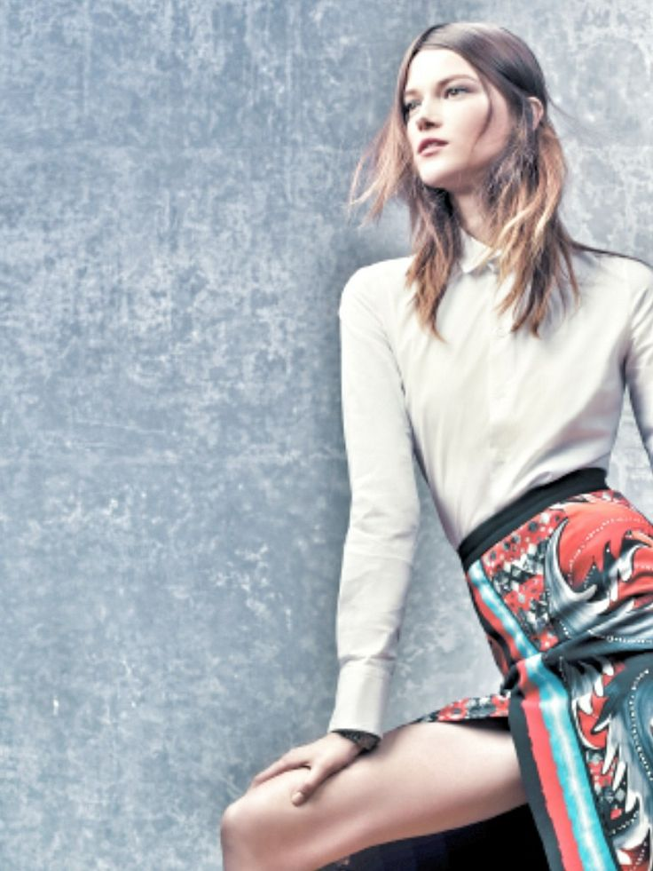 Kasia Struss by Craig McDean for Vogue US April 2013