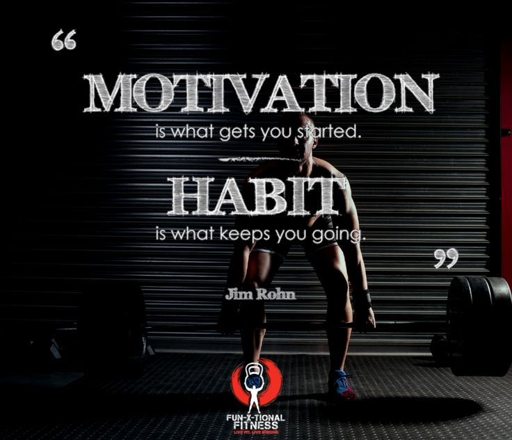 It doesn't matter what motivates you as long as you keep going!