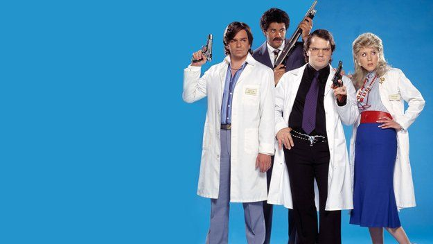 "2004: ""Garth Marenghi's Darkplace"" (British Dark Comedy, Sitcom) 1 Series (6 Episodes) Created by Richard Ayoade and Matthew Holness."
