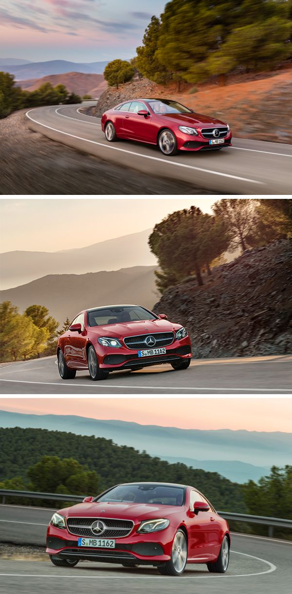 The Mercedes-Benz E-Class Coupé - Classic beauty meets latest technology.