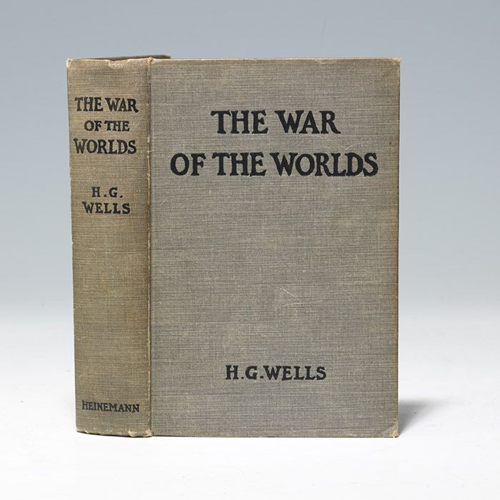 H.G. Wells - War of the Worlds First Edition | Bauman Rare Books