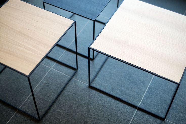 Twin tables. Photo credit: @tielensjan