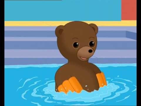 Petit Ours Brun - Petit Ours Brun va à la piscine