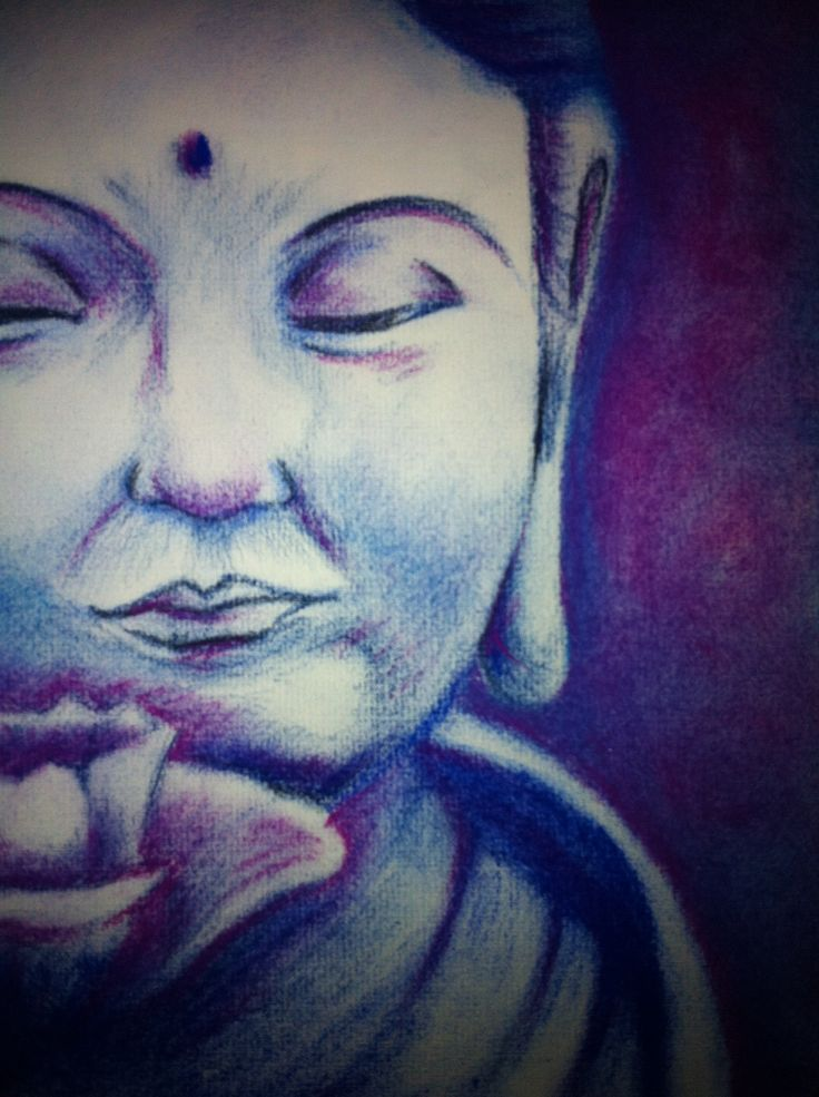 Buda pastel illustration