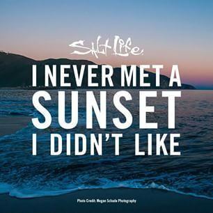 I never met a sunset I didn't like. #SaltLife