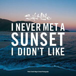 I never met a sunset I didn't like. #SaltLife