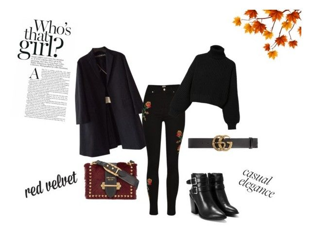 """""""WHO´s that GIRL?"""" by vilja1995 on Polyvore featuring Rochas, Diesel, Gucci, Nasty Gal and Prada"""
