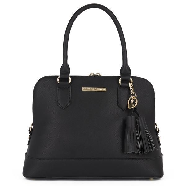 a black satchel, is there anything more classic?!