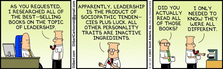 Leadership >> The Dilbert Strip for May 15, 2013 | Comics | Pinterest | Scott adams and Humor