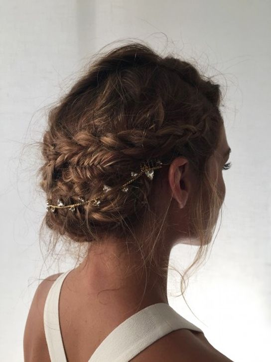 Braided Updo by Olivia Palermo
