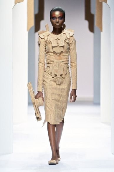 Suzaan Heyns using cork fabric from Amorin in her latest fashion range