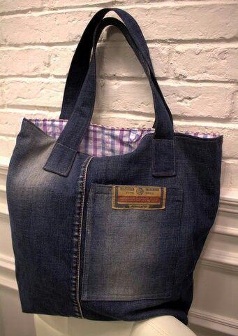 Upcycling bag LAWENDA