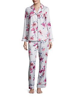 Saks Fifth Avenue Collection - Floral Pajamas Set