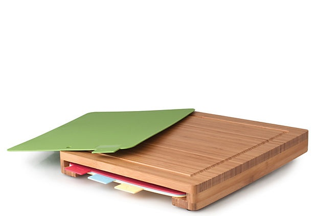 5-Piece Chopping Board Set ~ a different color for veggies, chicken, etc...