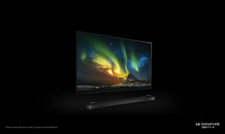 LG OLED65W7P: LG SIGNATURE OLED TV W 65 Inch OLED TV at CES 2017