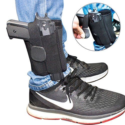 Braudel Ankle Holster for Concealed Carry,for Men Women,Fits Small to Medium Frame Pistols and Revolvor, Black - Braudel Ankle Holster for Concealed Carry - Are you still looking for a ankle holster? - We all like fairly priced item with great quality,don't we? Try this! WHY CHOOSE US? At Braudel we pride ourselves upon providing only the highest quality product and giving you what you need: Right Hand Draw...